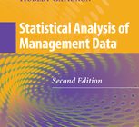 Statistical Analysis of Management Data, Gatignon, 2013